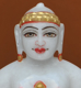 "Picture of 7S29 Super White Simandhar Swami 7"" Murti 7S29"
