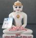 """Picture of 7S3 Super White Simandhar Swami 7"""" Murti 7S3"""