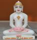"""Picture of 7S30 Super White Simandhar Swami 7"""" Murti 7S30"""
