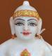 """Picture of 7S31 Super White Simandhar Swami 7"""" Murti 7S31"""