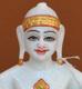 """Picture of 7S33 Super White Simandhar Swami 7"""" Murti 7S33"""