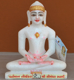 "Picture of 7S34 Super White Simandhar Swami 7"" Murti 7S34"