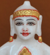 """Picture of 7S41 Super White Simandhar Swami 7"""" Murti 7S41"""