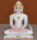 "Picture of 7S43 Super White Simandhar Swami 7"" Murti 7S43"