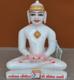 """Picture of 7S44 Super White Simandhar Swami 7"""" Murti 7S44"""