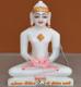 """Picture of 7S45 Super White Simandhar Swami 7"""" Murti 7S45"""
