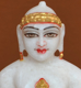 "Picture of 7S46 Super White Simandhar Swami 7"" Murti 7S46"