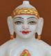 """Picture of 7S48 Super White Simandhar Swami 7"""" Murti 7S48"""