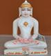 """Picture of 7S55 Super White Simandhar Swami 7"""" Murti 7S55"""