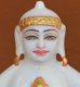 "Picture of 7S56 Super White Simandhar Swami 7"" Murti 7S56"