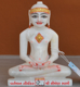 "Picture of 7S59 Super White Simandhar Swami 7"" Murti 7S59"