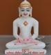"""Picture of 7S63 Super White Simandhar Swami 7"""" Murti 7S63"""