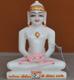 """Picture of 7S65 Super White Simandhar Swami 7"""" Murti 7S65"""