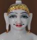 "Picture of 9N10 Normal White Simandhar Swami 9"" Murti 9N10"