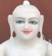 "Picture of 13S12 Super White Simandhar Swami 13"" Murti 13S12"