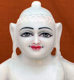 """Picture of 13S20 Super White Simandhar Swami 13"""" Murti 13S20"""