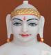 """Picture of 13S25 Super White Simandhar Swami 13"""" Murti 13S25"""