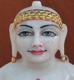 """Picture of 13S09 Super White Simandhar Swami 13"""" Murti 13S09"""
