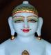 """Picture of 13S28 Super White Simandhar Swami 13"""" Murti 13S28"""