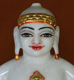 "Picture of 13S30 Super White Simandhar Swami 13"" Murti 13S30"