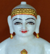 "Picture of 13S31 Super White Simandhar Swami 13"" Murti 13S31"