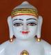 """Picture of 13S33 Super White Simandhar Swami 13"""" Murti 13S33"""