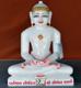 """Picture of 13S35 Super White Simandhar Swami 13"""" Murti 13S35"""