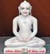 """Picture of 15SW7 Super White Simandhar Swami 15"""" Murti 15SW7"""