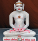 "Picture of 15SW10 Super White Simandhar Swami 15"" Murti 15SW10"