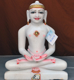 "Picture of 15SW14 Super White Simandhar Swami 15"" Murti 15SW14"