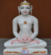 "Picture of 17S04 Super White Simandhar Swami 17"" Murti 17S04"