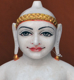 """Picture of 17NW3  Normal White Simandhar Swami 17"""" Murti 17NW3"""