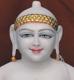 """Picture of 17S10  Super White Simandhar Swami 17"""" Murti 17S10"""