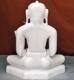 "Picture of 17S8  Super White Simandhar Swami 17"" Murti 17S8"