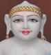 "Picture of 17SW9  Super White Simandhar Swami 17"" Murti 17SW9"