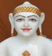 """Picture of 19SW5  Super White Simandhar Swami 19"""" Murti 19SW5"""