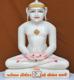 """Picture of 19SW4  Super White Simandhar Swami 19"""" Murti 19SW4"""