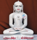 "Picture of 23S3 Super White Simandhar Swami 23"" Murti 23S3"