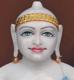 """Picture of 21S5 Super White Simandhar Swami 21"""" Murti 21S5"""