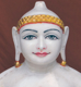 "Picture of 19N2 Normal White Simandhar Swami 19"" Murti 19N2"
