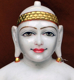 "Picture of 25SW2  Super White Simandhar Swami 25"" Murti 25SW2"
