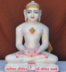"Picture of 15N3 Normal White Simandhar Swami 15"" Murti 15N3"