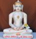 "Picture of 15N7 Normal White Simandhar Swami 15"" Murti 15N7"