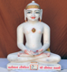 "Picture of 15N9 Normal White Simandhar Swami 15"" Murti 15N9"