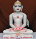 "Picture of 13N47 Normal White Simandhar Swami 13"" Murti 13N47"