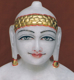 """Picture of 11SW45 Super White Simandhar Swami 11"""" Murti 11SW45"""
