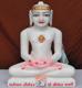"""Picture of 11SW50 Super White Simandhar Swami 11"""" Murti 11SW50"""