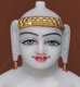 "Picture of 11SW51 Super White Simandhar Swami 11"" Murti 11SW51"