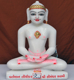 "Picture of 11SW58 Super White Simandhar Swami 11"" Murti 11SW58"