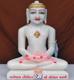 """Picture of 11SW59 Super White Simandhar Swami 11"""" Murti 11SW59"""